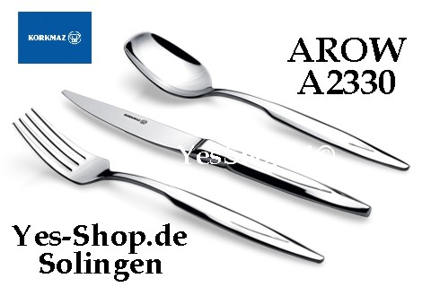 KORKMAZ ARROW 89Tlg Besteck Set A2330