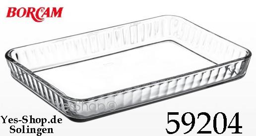 BORCAM Auflaufform/Tablet Eckig 40x27 cm 59204