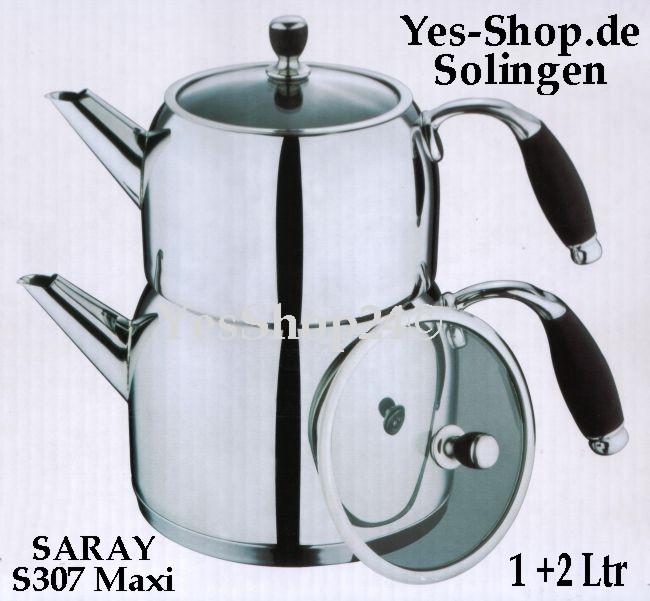 SARAY Teekannen set S307 Maxi 1+2Ltr