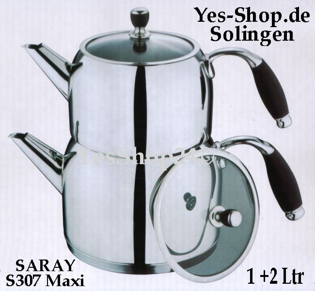 SARAY Teekannen set S307 Maxi 1+2Ltr